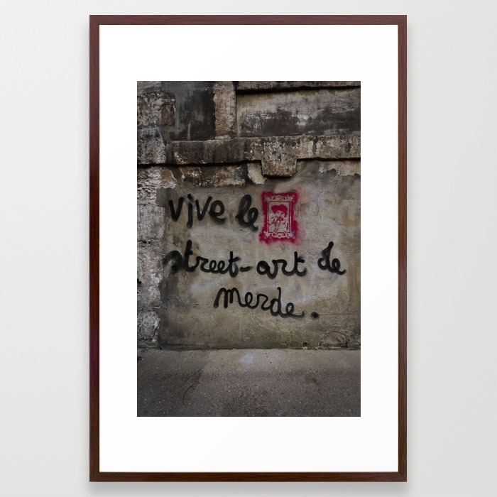 long-live-shitty-street-art-rouen-normandy-france-framed-prints